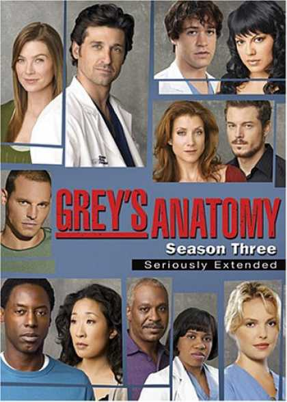 Bestselling Movies (2007) - Grey's Anatomy - The Complete Third Season