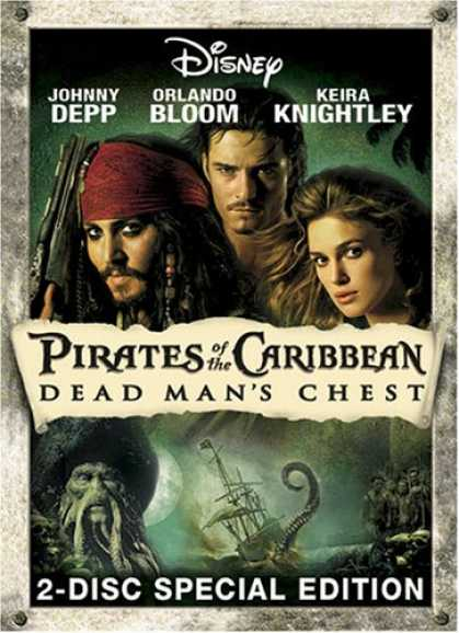 Bestselling Movies (2007) - Pirates of the Caribbean - Dead Man's Chest (Two-Disc Collector's Edition)