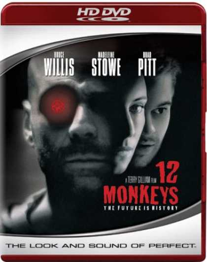 Bestselling Movies (2007) - 12 Monkeys [HD DVD] by Terry Gilliam