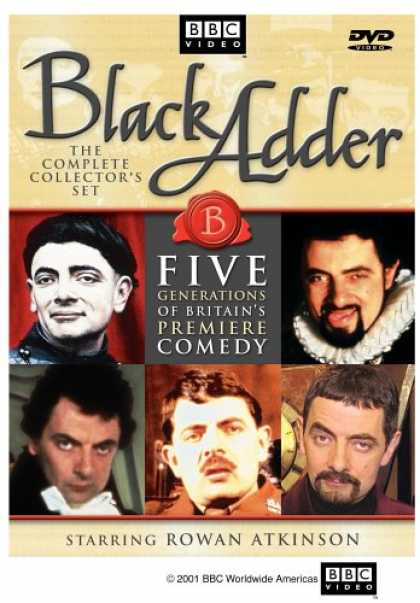 Bestselling Movies (2007) - Black Adder - The Complete Collector's Set by Martin Shardlow