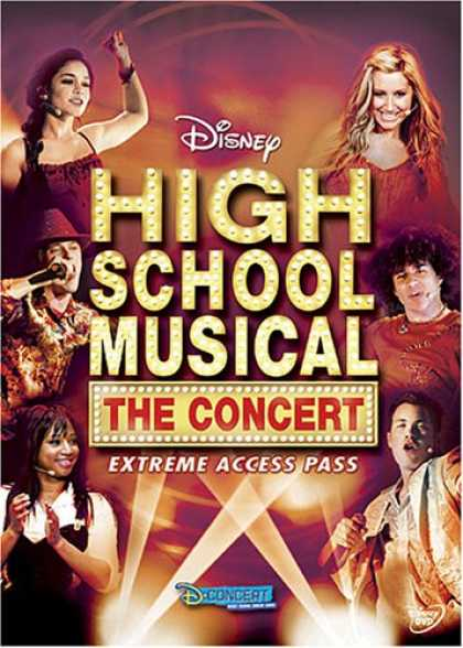 Bestselling Movies (2007) - High School Musical, The Concert - Extreme Access Pass