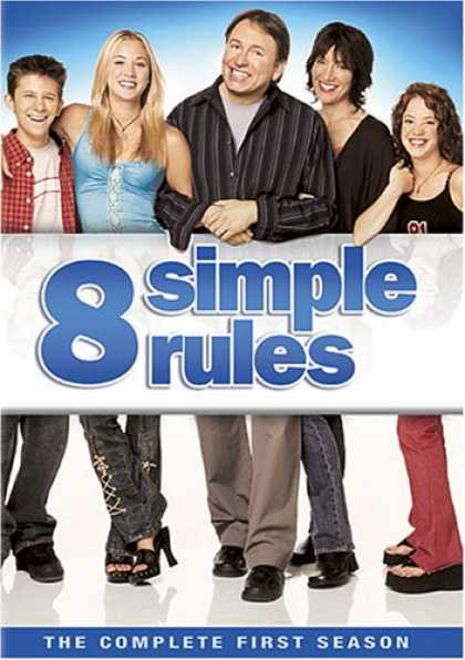 Bestselling Movies (2007) - 8 Simple Rules - The Complete First Season by James Widdoes