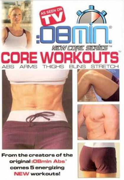 Bestselling Movies (2007) - :08 Min Core Workouts: Abs, Arms, Thighs, Buns and Stretch