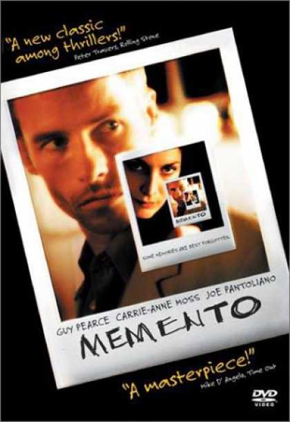 Bestselling Movies (2007) - Memento by Christopher Nolan