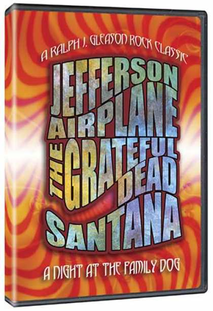 Bestselling Movies (2007) - A Night at the Family Dog 1970 (The Grateful Dead / Jefferson Airplane / Santana