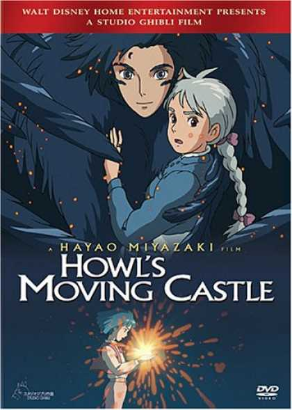 Bestselling Movies (2007) - Howl's Moving Castle by Pete Docter