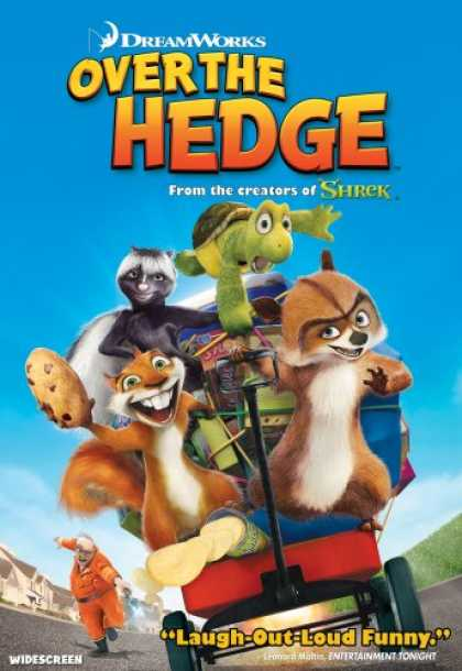 Bestselling Movies (2007) - Over the Hedge (Widescreen Edition) by Tim Johnson
