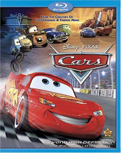 Bestselling Movies (2007) - Cars [Blu-ray]
