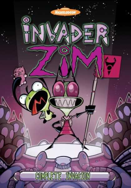 Bestselling Movies (2007) - Invader Zim Complete Invasion (3 vol. set) by Steve Ressel