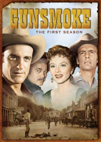 Bestselling Movies (2007) - Gunsmoke - The First Season