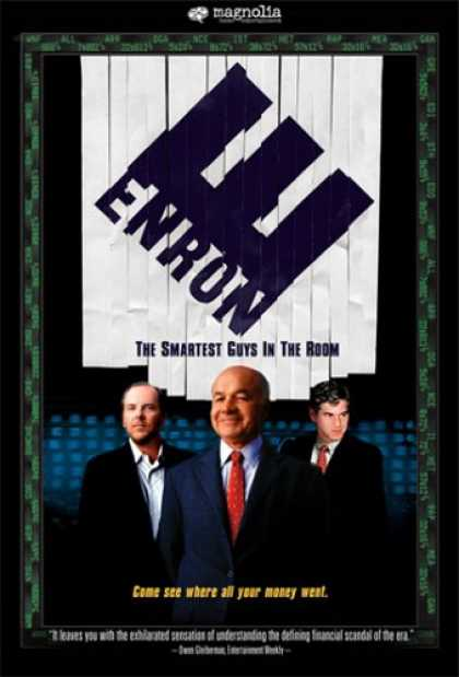 Bestselling Movies (2007) - Enron: The Smartest Guys in the Room by Alex Gibney