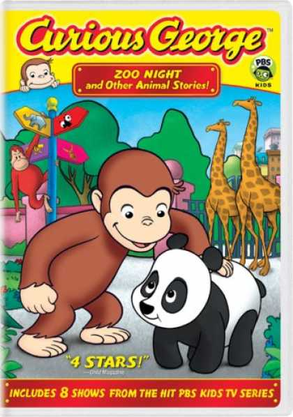 Bestselling Movies (2007) - Curious George - Zoo Night & Other Animal Stories by Frank Marino (II)