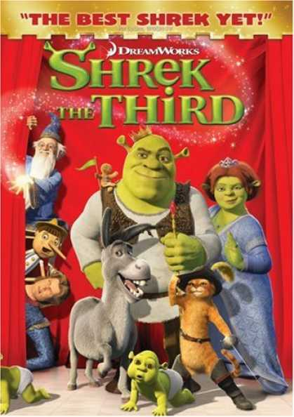 Bestselling Movies (2007) - Shrek The Third (Full Screen Edition)
