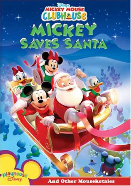 Bestselling Movies (2007) - Mickey Mouse Clubhouse - Mickey Saves Santa by Sherie Pollack