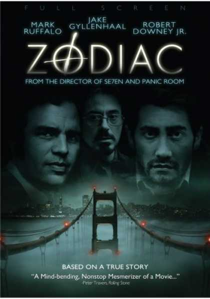 Bestselling Movies (2007) - Zodiac (Full Screen Edition)