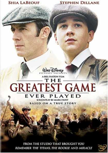 Bestselling Movies (2007) - The Greatest Game Ever Played by Bill Paxton