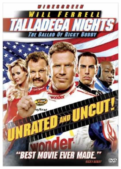 Bestselling Movies (2007) - Talladega Nights - The Ballad of Ricky Bobby (Unrated Widescreen Edition) by Ada