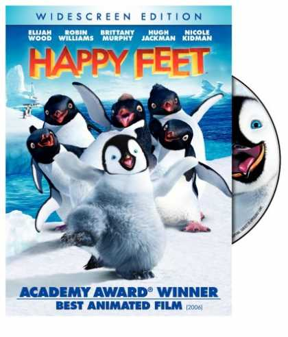 Bestselling Movies (2007) - Happy Feet (Widescreen Edition) by George Miller (II)