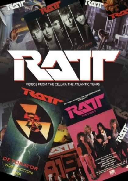 Bestselling Movies (2007) - Ratt - Videos From the Cellar: The Atlantic Years