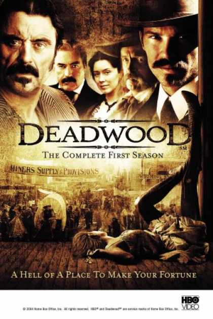 Bestselling Movies (2007) - Deadwood - The Complete First Season by Michael Almereyda