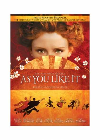 Bestselling Movies (2007) - As You Like It by Kenneth Branagh