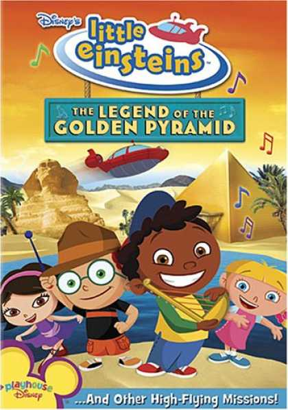 Bestselling Movies (2007) - Disney's Little Einsteins - The Legend of the Golden Pyramid