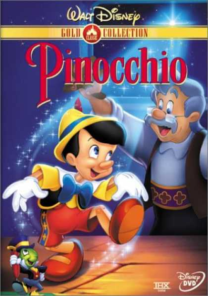 Bestselling Movies (2007) - Pinocchio (Disney Gold Classic Collection) by Hamilton Luske