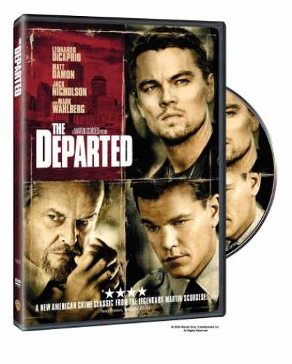 Bestselling Movies (2007) - The Departed (Full Screen Edition) by Martin Scorsese