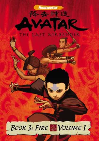 Bestselling Movies (2007) - Avatar The Last Airbender Book 3 Fire, Vol. 1