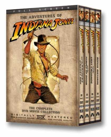 Bestselling Movies (2007) - The Adventures of Indiana Jones - The Complete DVD Movie Collection (Full Screen