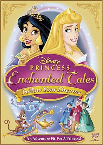 Bestselling Movies (2007) - Disney Princess Enchanted Tales - Follow Your Dreams
