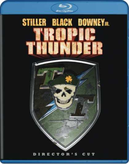 Bestselling Movies (2008) - Tropic Thunder (Unrated Director's Cut + BD Live) [Blu-ray] by Ben Stiller