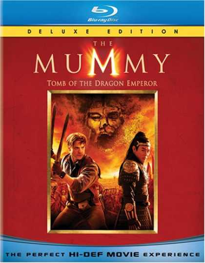 Bestselling Movies (2008) - The Mummy: Tomb of the Dragon Emperor [Blu-ray]