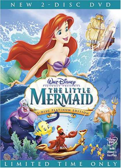 Bestselling Movies (2008) - The Little Mermaid (Two-Disc Platinum Edition) by Ron Clements