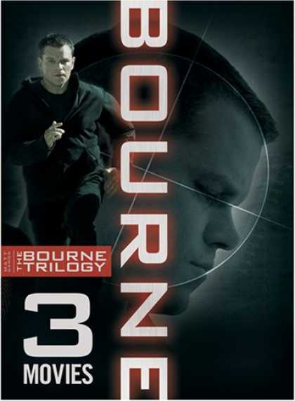 Bestselling Movies (2008) - The Bourne Trilogy (The Bourne Identity | The Bourne Supremacy | The Bourne Ulti