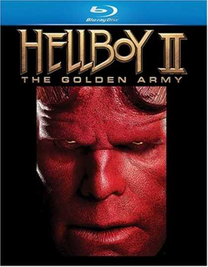Bestselling Movies (2008) - Hellboy II: The Golden Army [Blu-ray]