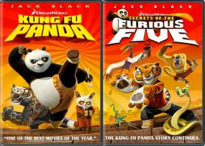 Bestselling Movies (2008) - Kung Fu Panda Two - Pack (Kung Fu Panda Widescreen Edition + Secrets of the Furi