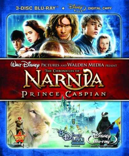 Bestselling Movies (2008) - The Chronicles of Narnia: Prince Caspian (Three-Disc Collector's Edition+ Digita