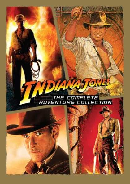 Bestselling Movies (2008) - Indiana Jones - The Complete Adventure Collection (Raiders of the Lost Ark/ Temp
