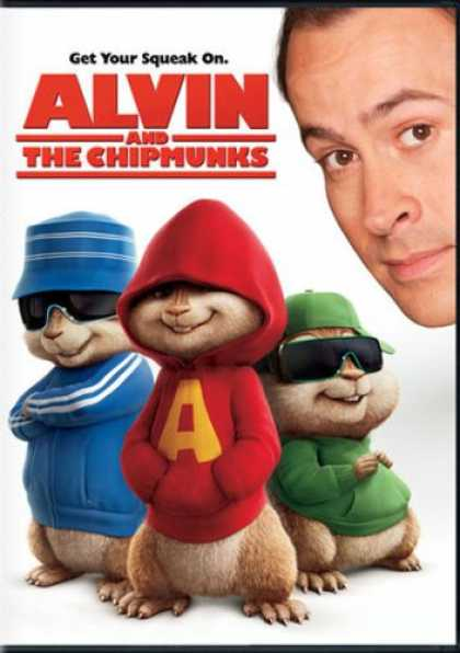 Bestselling Movies (2008) - Alvin and the Chipmunks
