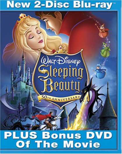 Bestselling Movies (2008) - Sleeping Beauty (Two-Disc Platinum Edition + Standard DVD and BD Live) [Blu-ray]