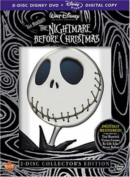 Bestselling Movies (2008) - The Nightmare Before Christmas (2-Disc Collector's Edition + Digital Copy) by He