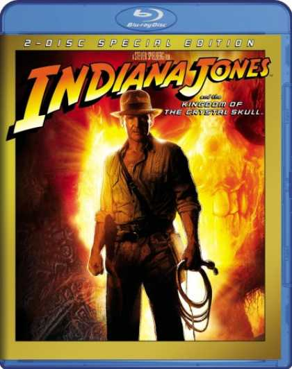 Bestselling Movies (2008) - Indiana Jones and the Kingdom of the Crystal Skull [Blu-ray] by Steven Spielberg