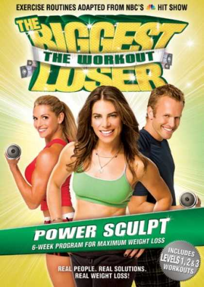 Bestselling Movies (2008) - The Biggest Loser Workout: Power Sculpt by Cal Pozo