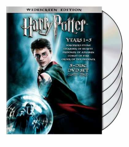 Bestselling Movies (2008) - Harry Potter Years 1-5 by Chris Columbus
