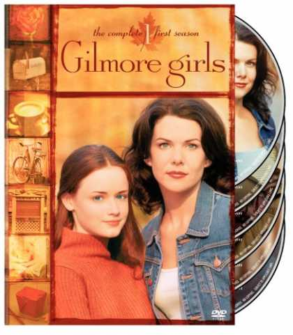 Bestselling Movies (2008) - Gilmore Girls - The Complete First Season by Adam Nimoy