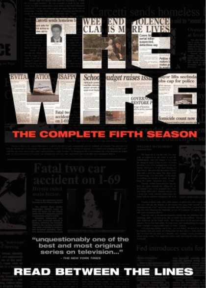 Bestselling Movies (2008) - The Wire - The Complete Fifth Season