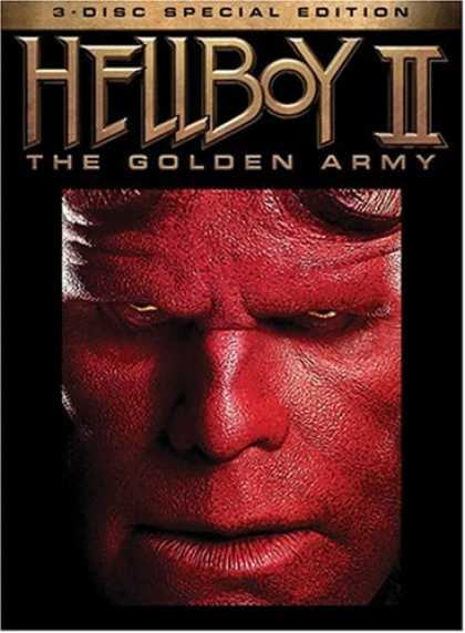 Bestselling Movies (2008) - Hellboy II: The Golden Army (3 Disc Special Edition) by Guillermo del Toro