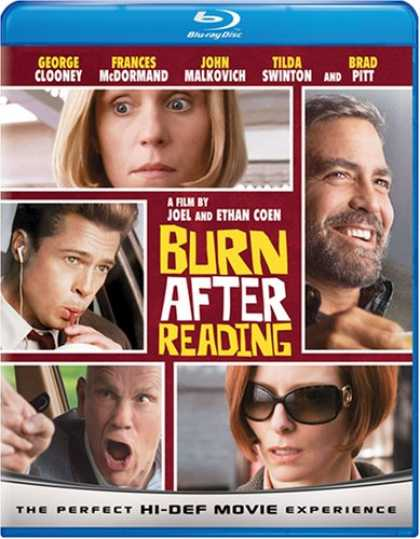 Bestselling Movies (2008) - Burn After Reading [Blu-ray]