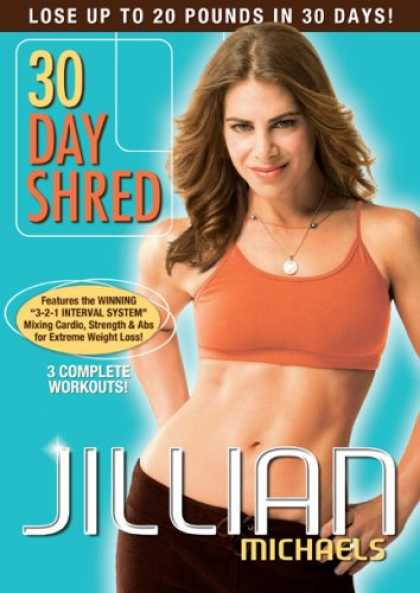 Bestselling Movies (2008) - Jillian Michaels - 30 Day Shred by Andrea Ambandos